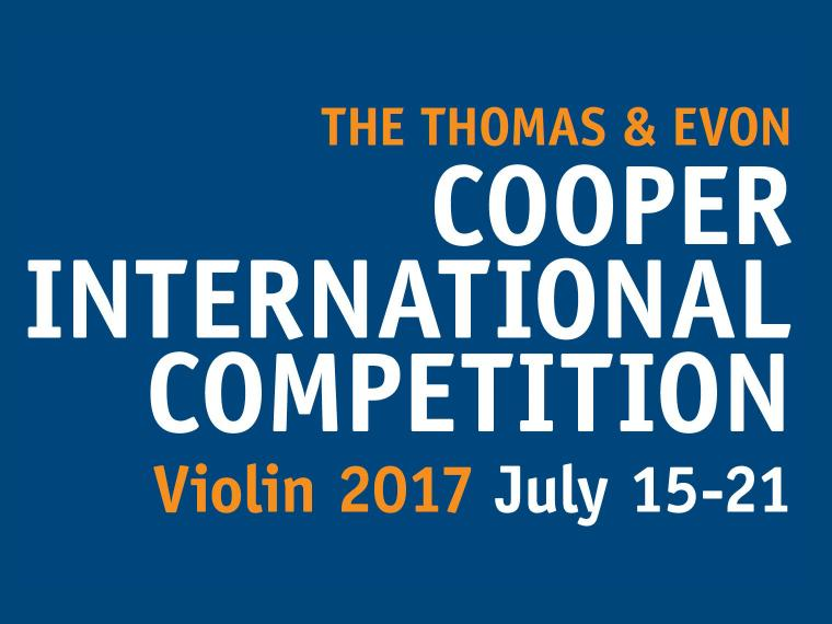 Welcome to the 2017 Cooper International Competition at Oberlin