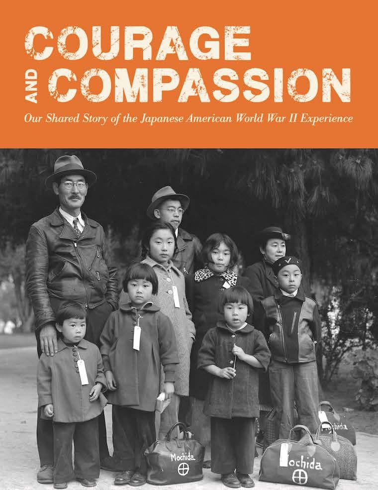 Postcard image of Courage and Compassion exhibit