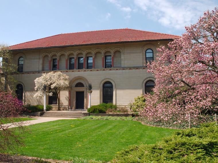 Exterior of Cox Administration Building