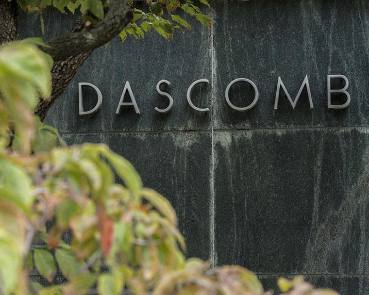 Dascomb Hall exterior.