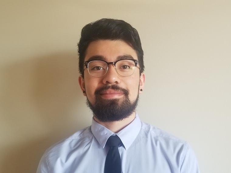 Headshot of student Francisco Garcia