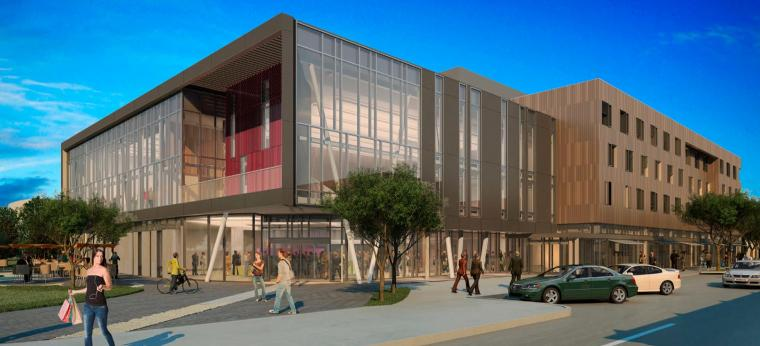 An Artist S Rendering Of Oberlin New Hotel And Conference Center Photo Credit Solomon Cordwell Buenz