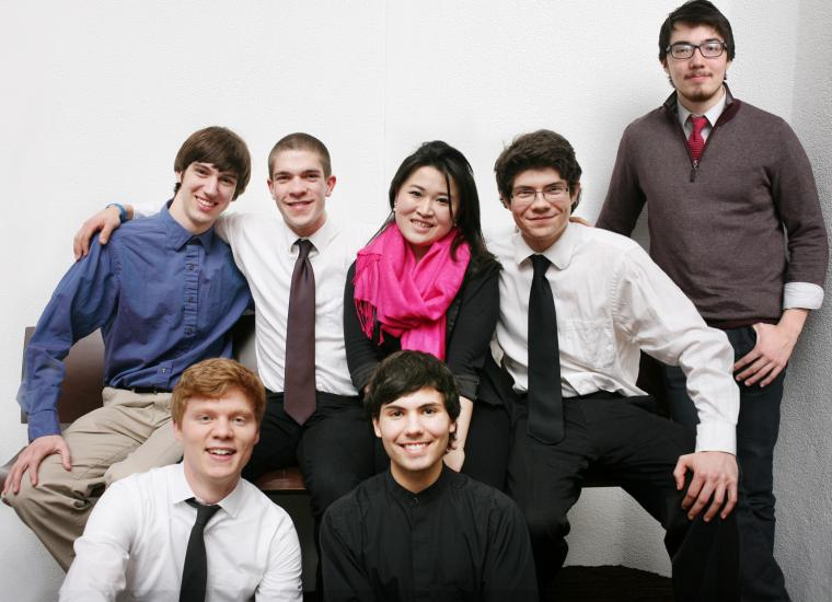 The 7 participating students