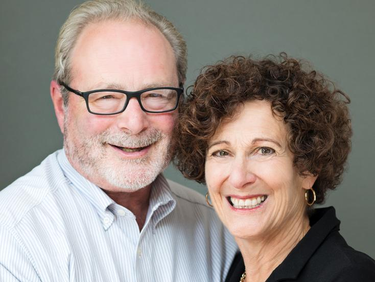 Gary Kornblith and Carol Lasser '97