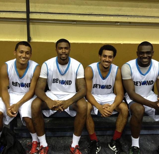 Four teammates
