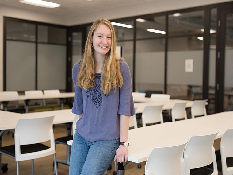 Kaitlyn Lucey '20 named Mount Vernon Fellow