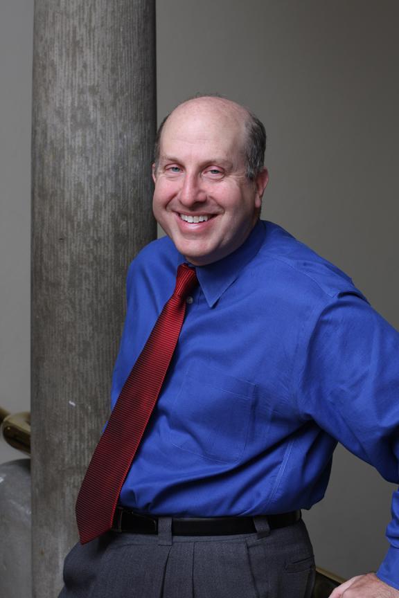 Oberlin's president, Marvin Krislov