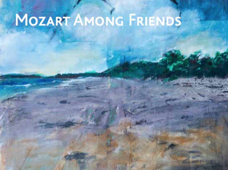 """album cover of """"Mozart Among Friends"""""""