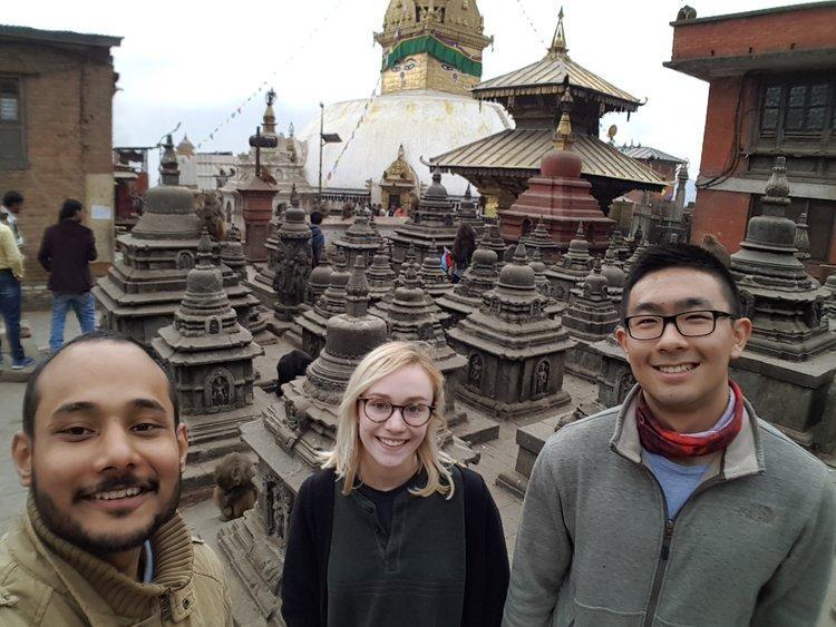 Bikalpa Baniya, Kristen Mayhew, and Charles Cui