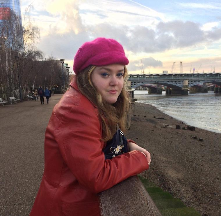 Nia Owen against a city backdrop