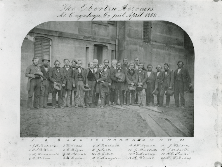 Historic photo of Oberlin Rescuers.