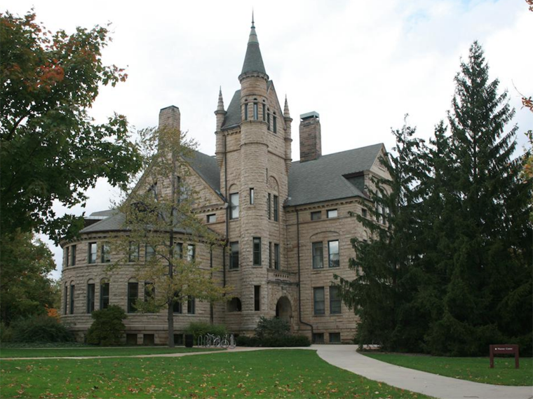 Peters Hall exterior.