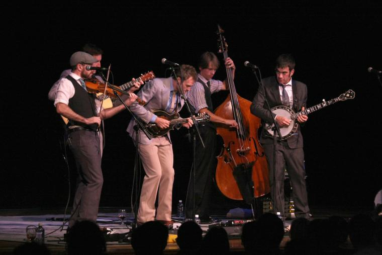 Punch Brothers performing
