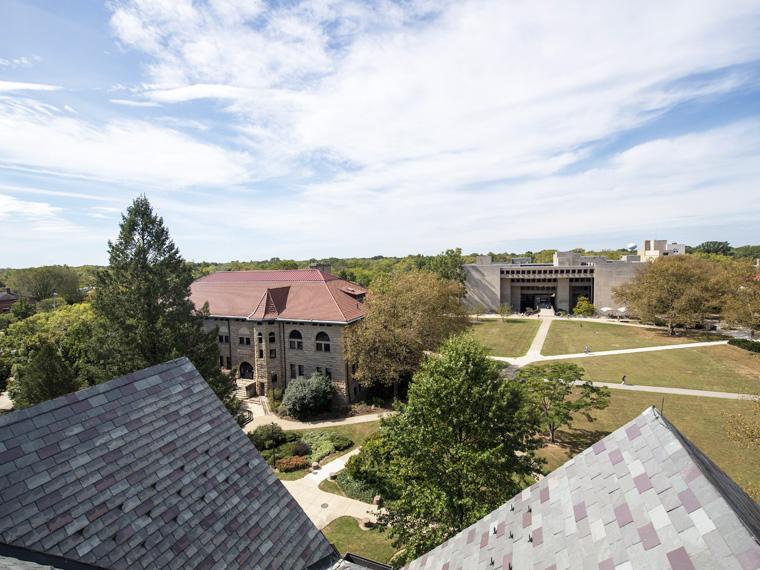 campus looking at Wilder Bowl.