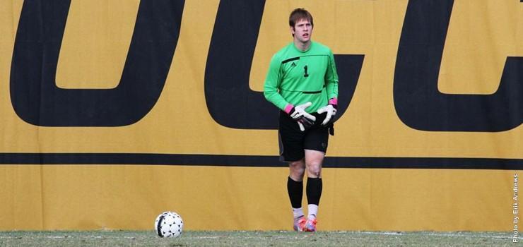 Brandt Rentel on the soccer field