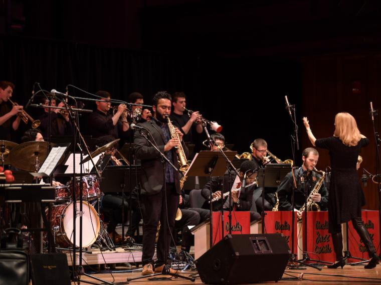Oberlin Jazz Ensemble with Maria Schneider