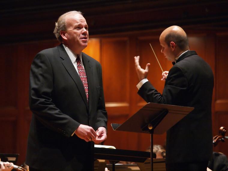 Baritone singer-professor Timothy LeFebvre
