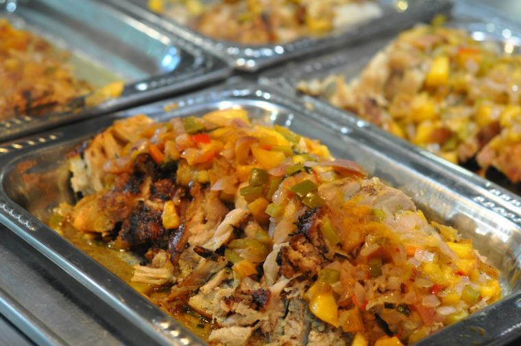 pork loin roast served at Stevenson dining hall