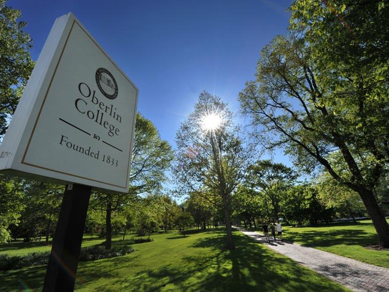 image of Oberlin College marker