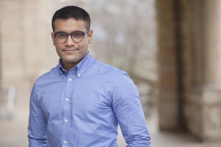 Carnegie Junior Fellowship recipient Saksham Khosla