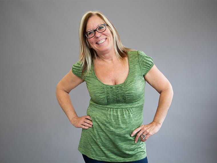 Portrait of Sandra Austin.