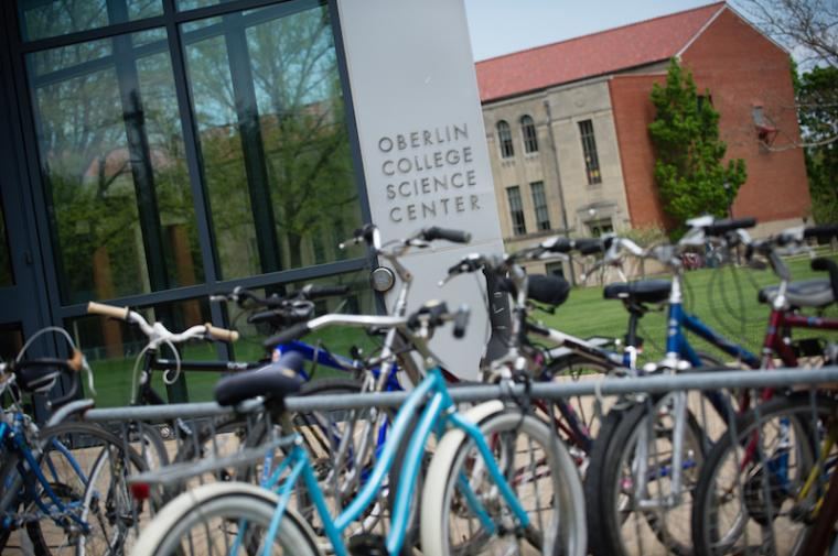 Entrance to the Oberlin College Science Center