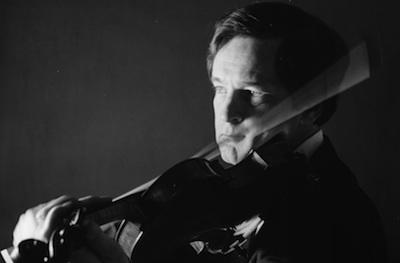 Steve Clapp playing violin