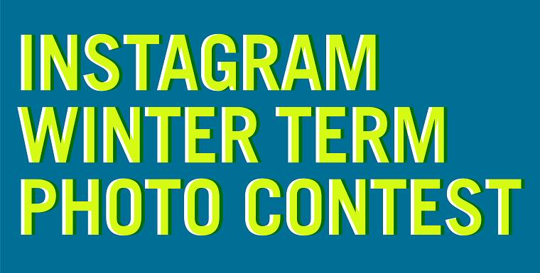Instagram Winter Term Photo Contest