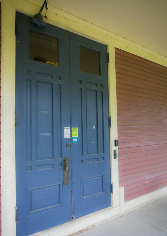 A set of large doors.