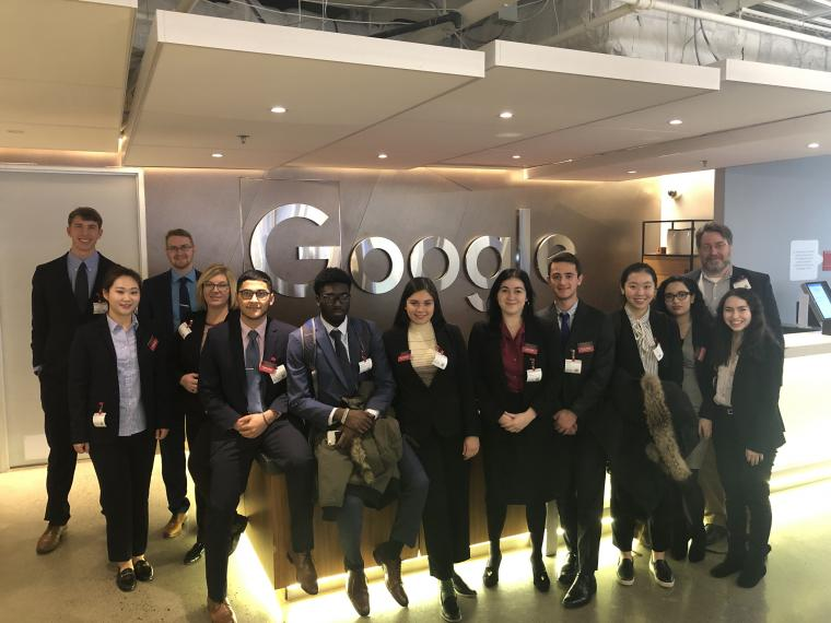 2019-2020 Ashby Business Scholars at Google