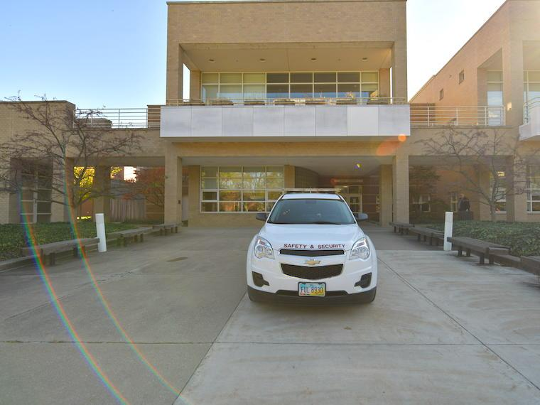 photo of Campus safety vehicle