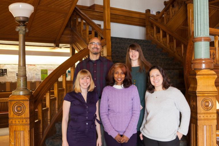 Student Academic Success Program team in Peters Hall
