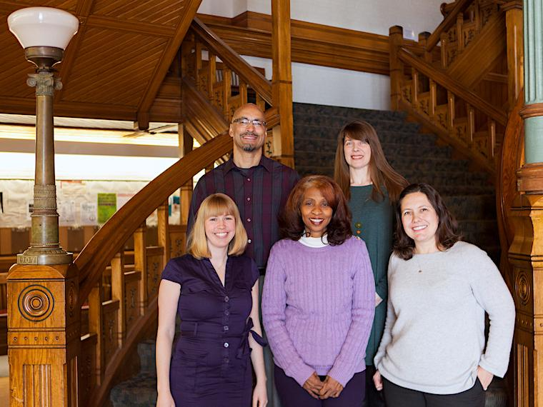group photo of Student Academic Programs staff