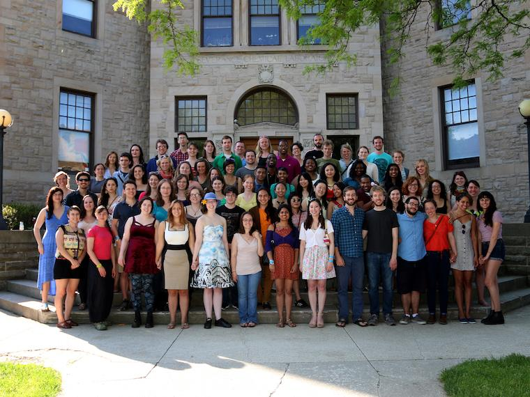 Photo of Class of 2010 at CRW 2014