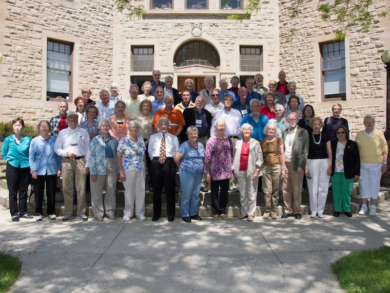 Photo of Class of 1958 at CRW 2014