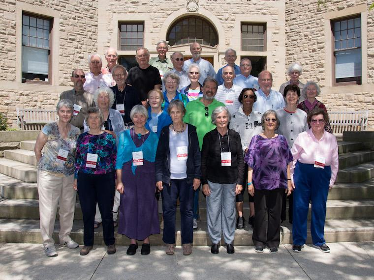 Photo of Class of 1959 at CRW 2014