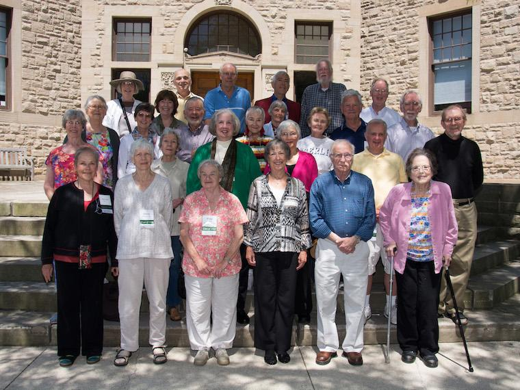 Photo of Class of 1960 at CRW 2014