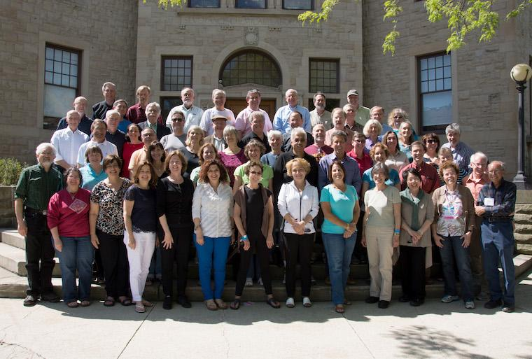 Photo of Class of 1974 at CRW 2014