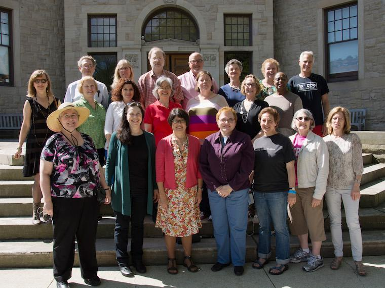 Photo of Class of 1975 at CRW 2014