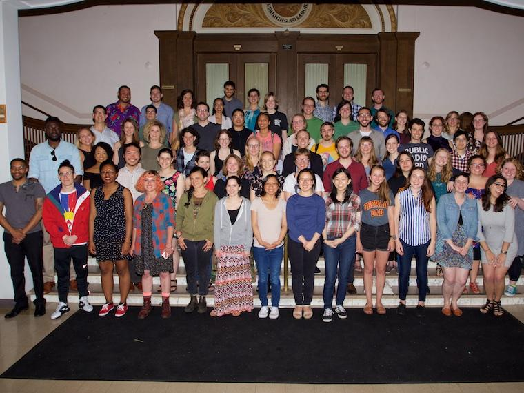 Photo of Class of 2012 at CRW 2017