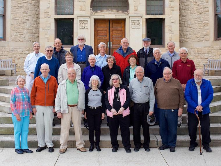 Photo of Class of 1961 at CRW 2017