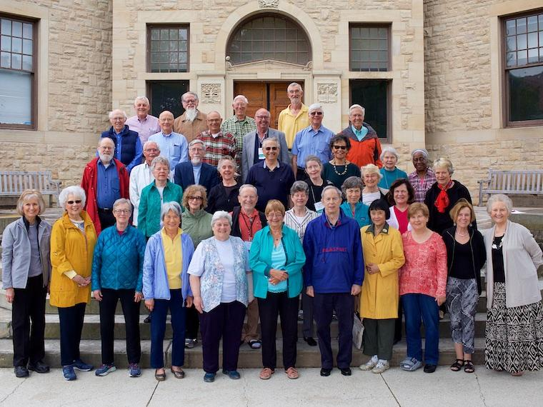 Photo of Class of 1962 at CRW 2017