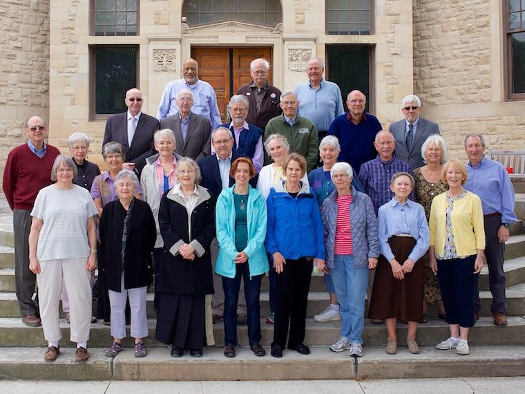 Photo of Class of 1963 at CRW 2017