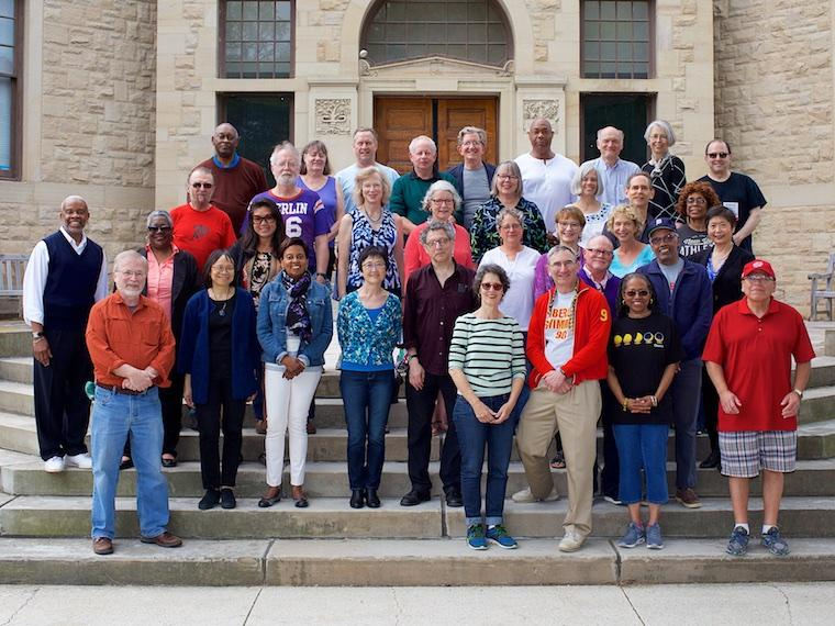 Photo of Class of 1976 at CRW 2017