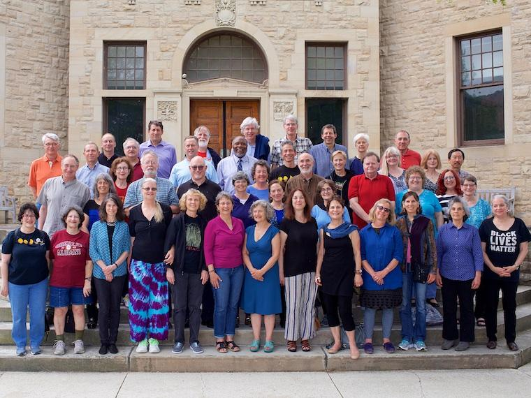 Photo of Class of 1977 at CRW 2017