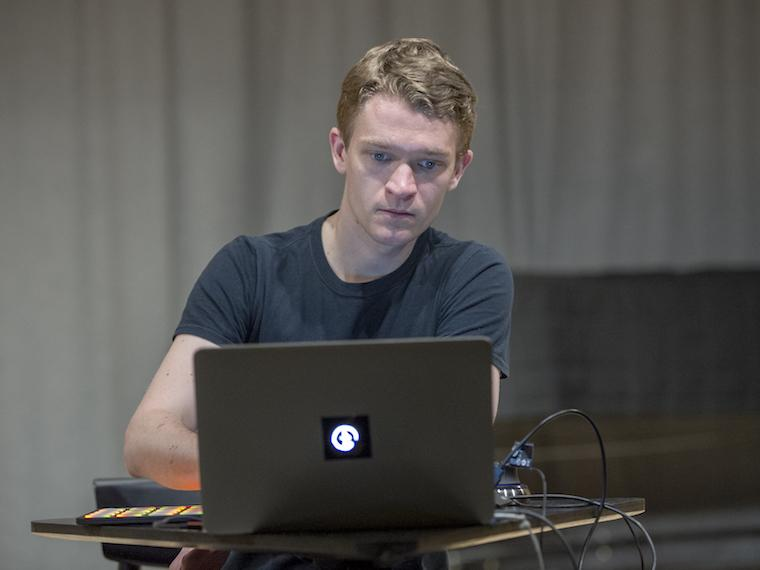 electroacoustic artist and visiting TIMARA faculty member Eli Stine '14