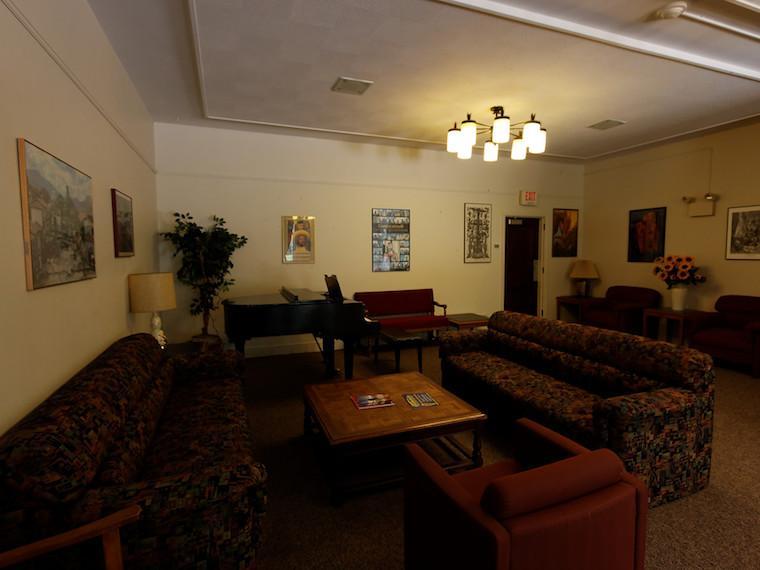 Harvey House lounge