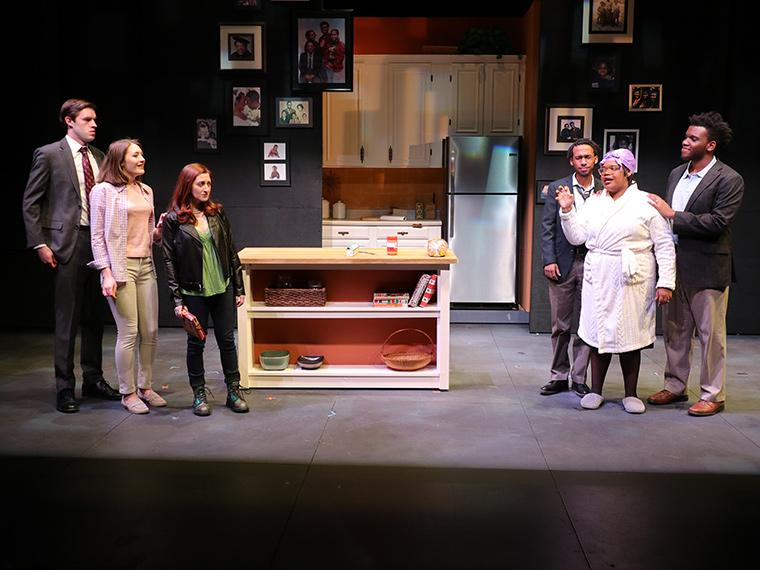 Production photo of What We Look Like, written by B.J. Tindal, Directed by Caroline Jackson Smith, Irene & Alan Wurtzel, Feb 7-10, 2019