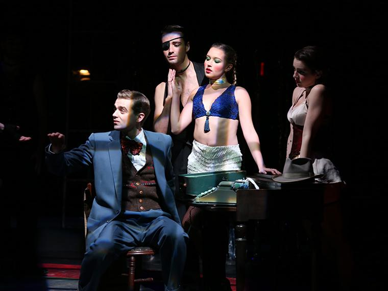 Production photo of Cabaret, music by John Kander, lyrics by Fred Ebb & book by Joe Masteroff, Directed by Paul Moser, Irene & Alan Wurtzel Theater, Dec 6-9, 2018