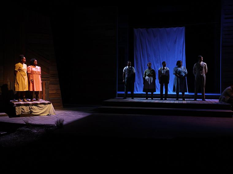 The company of The Bluest Eye, adaptation by Lydia Diamond, based on the book by Toni Morrison, Directed by Justin Emeka, Nov 30-Dec 3, 2017
